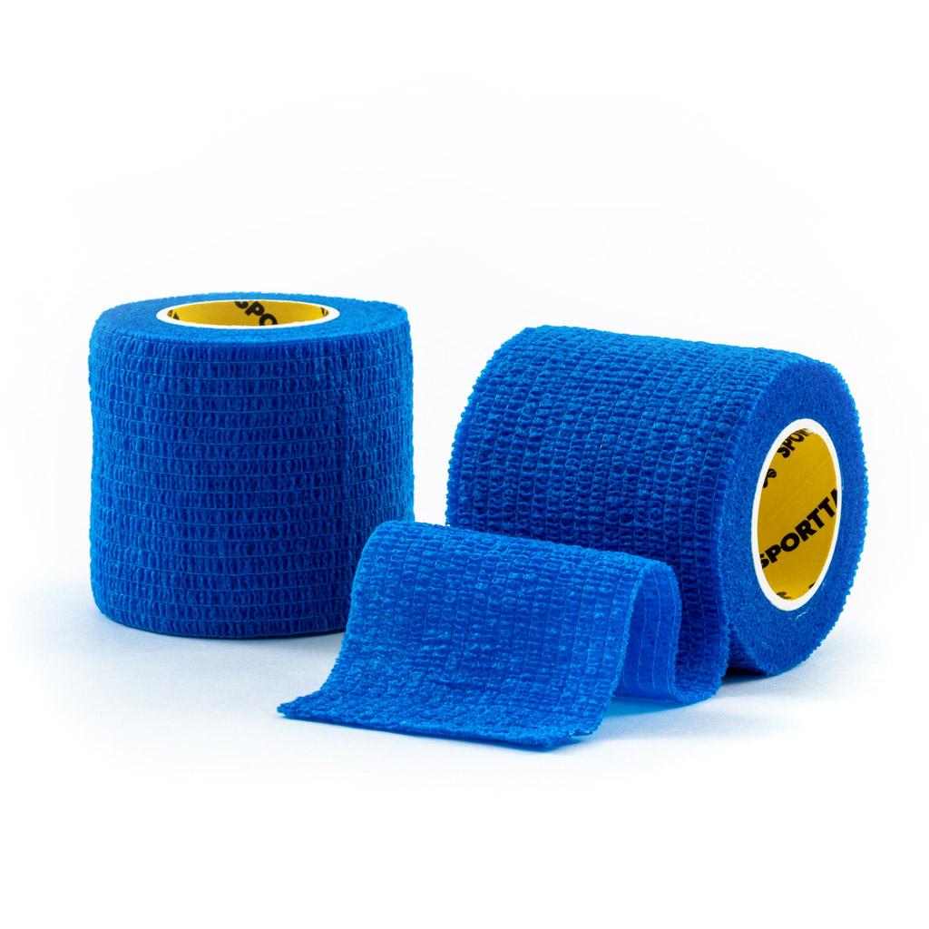 Cohesive Tape 5cm Blue 2 Rolls