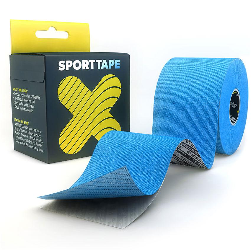 Kinesiology Tape Blue 5cm SPORTTAPE