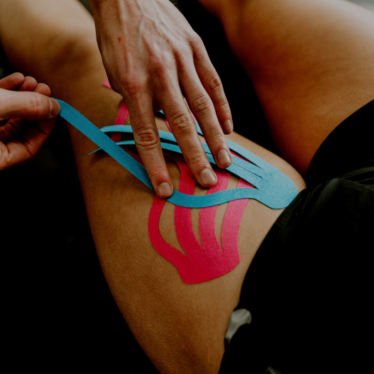 Kinesiology Taping for Swelling