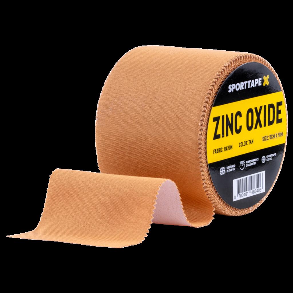 wide zinc oxide tan tape