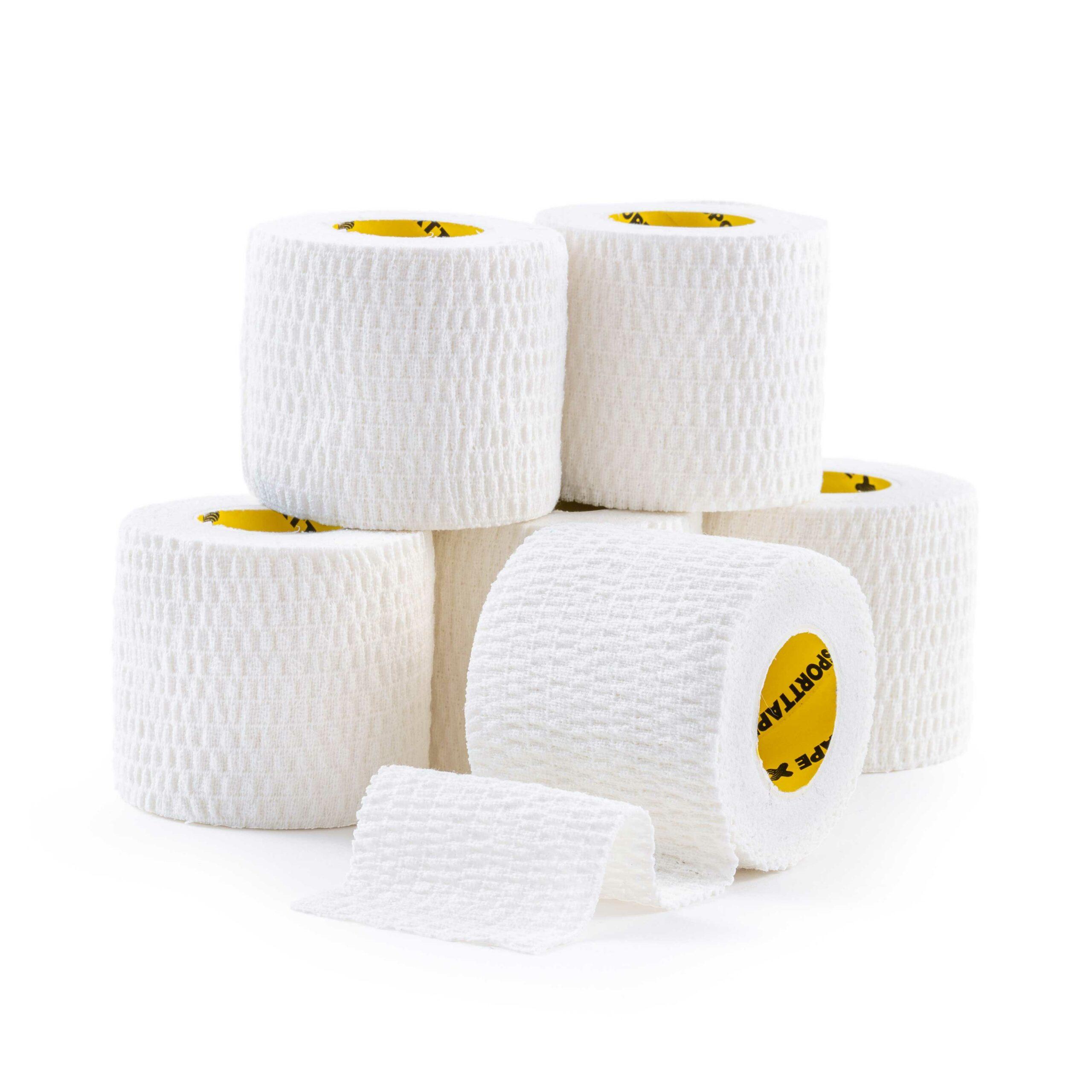 Tear EAB 5cm x 4.5m White 6 Rolls