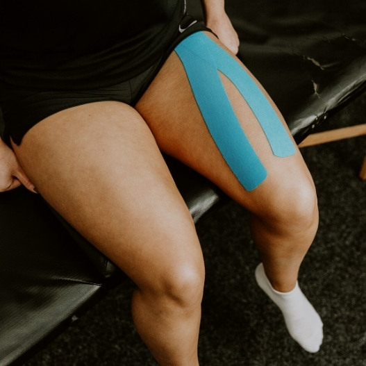 Quadriceps Kinesiology Tape Application