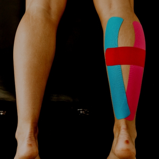 Image of the Kinesiology Tape Calf Application