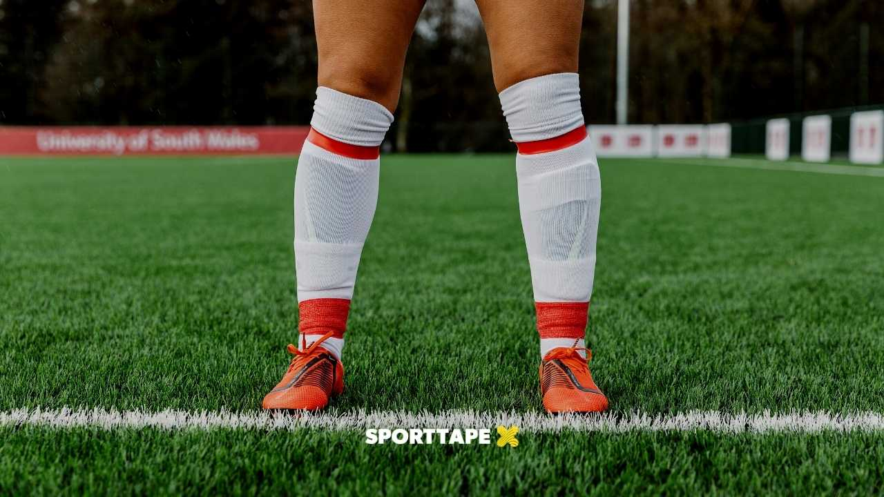 What Tape do Footballers wear on their socks
