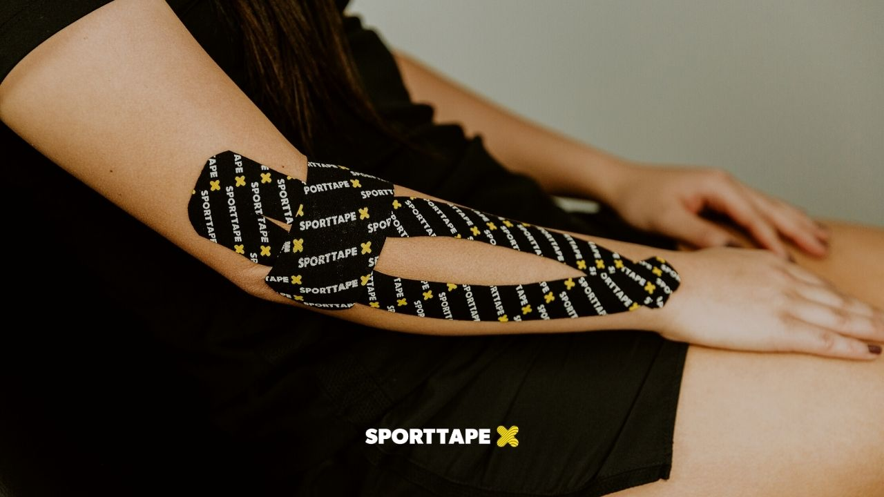 Kinesiology Taping for Golfers Elbow