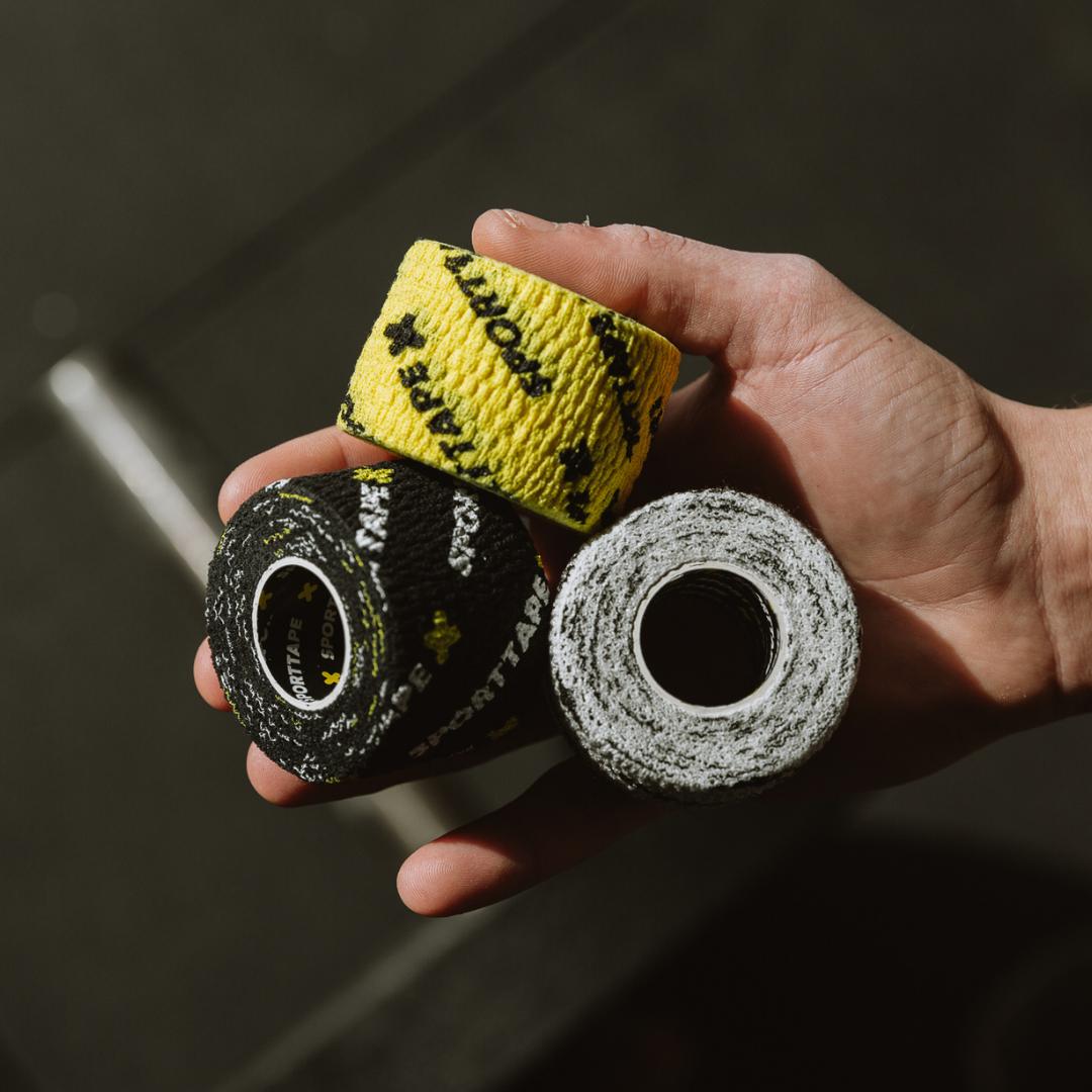 3 rolls of SPORTTAPE Thumb Tape