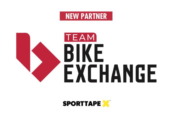 SPORTTAPE x Team Bike Exchange