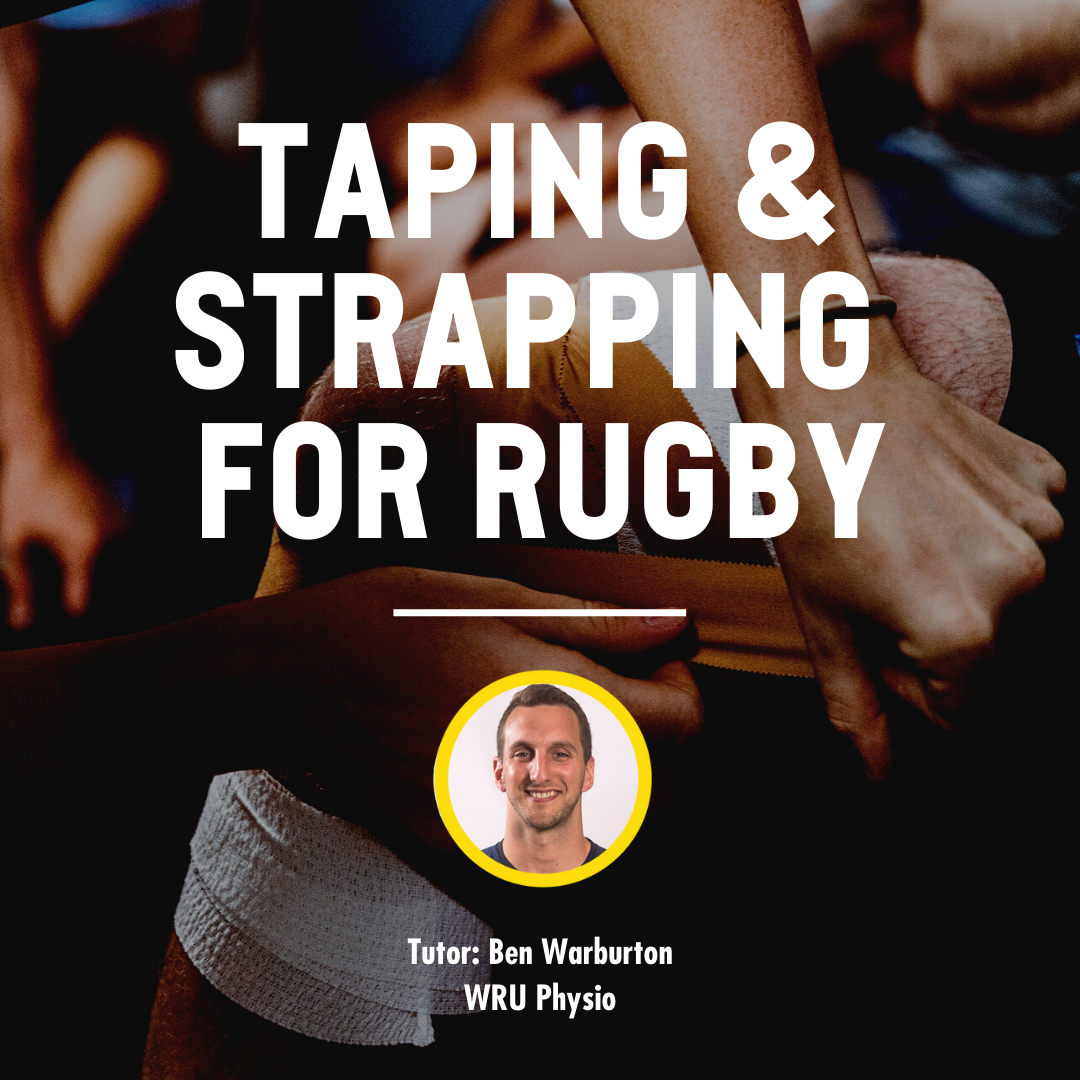 TAPING & STRAPPING FOR TEAM SPORTS STRAPPING WORKSHOP